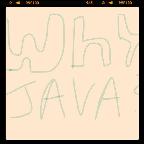 Why Java as the First Language May Not Be For You